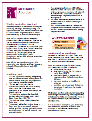Download our 2019 print fact sheet with health and policy information