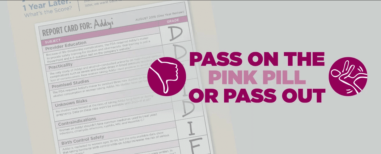 Pass On The Pink Pill Or Pass Out Banner