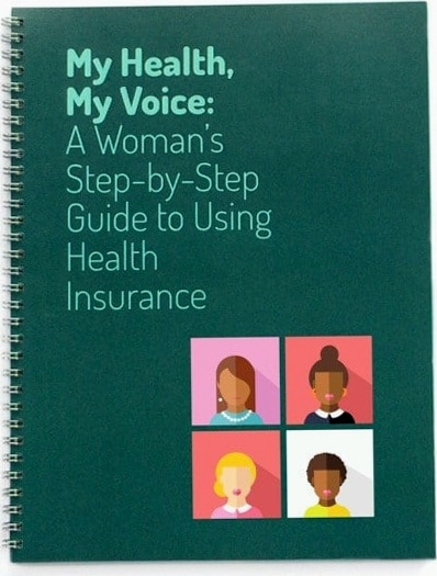 My Health My Voice Guide Cover