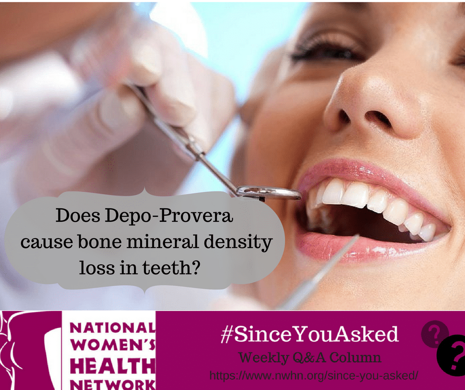 Depo-Provera and Bone Mineral Density - NWHN