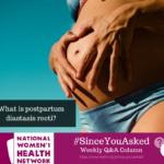 What is postpartum diastasis recti?